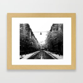 Addison Cold Framed Art Print