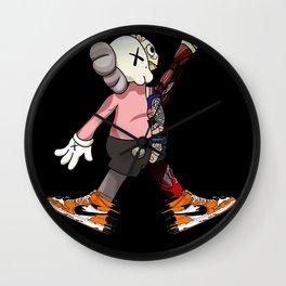 Kaws X Art Jordan 1 poster Wall Clock