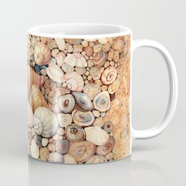 Shells on Sand Coffee Mug