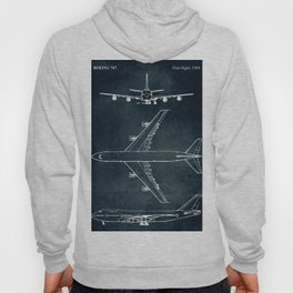 BOEING 747 - First flight 1969 Hoody