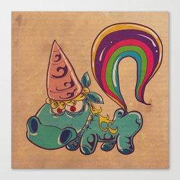 Colorful Pony Canvas Print