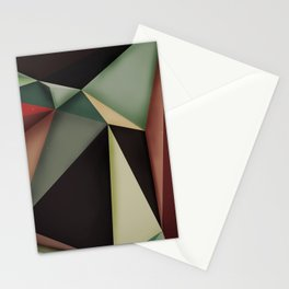 Midnight silence Stationery Cards
