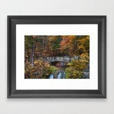 the Stone Bridge Framed Art Print