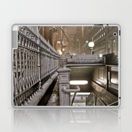 Wall Street - Snow - New York Photography  Laptop & iPad Skin