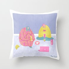 A Perfect Introvert's Evening Throw Pillow