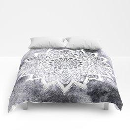 BOHO WHITE NIGHTS MANDALA Comforters