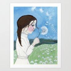 The Wish Art Print