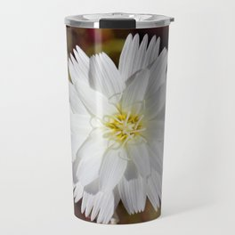 White Petals in the Desert by Reay of Light Photography Travel Mug
