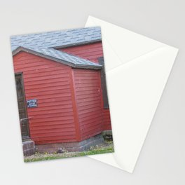 Abandoned House, Chaseley, North Dakota 4 Stationery Cards