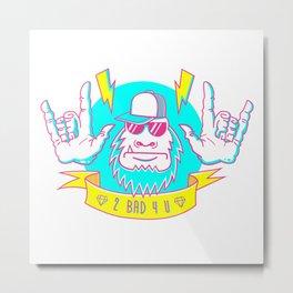 $@$$QU@TCH Metal Print