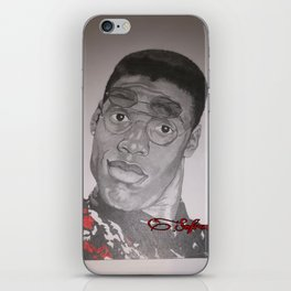 Dwayne Wayne iPhone Skin
