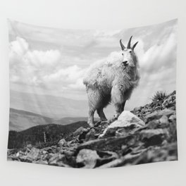 KING OF THE MOUNTAIN Wall Tapestry