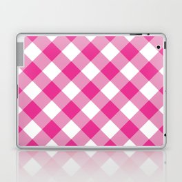 Gingham - Pink Laptop & iPad Skin