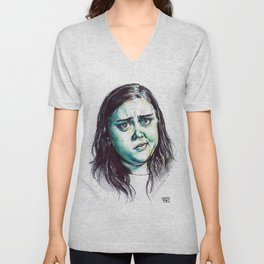 My Mad Fat Diary - Rae Earl Unisex V-Neck