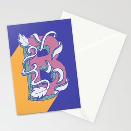 Letter B of 2019 Stationery Cards