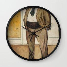 Edvard Munch - Consul Christen Sandberg Wall Clock