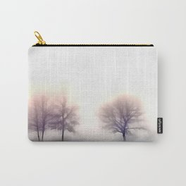 Silent Snowy Winter Morning Sunrise Carry-All Pouch