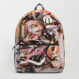 Medusa - Magazine Collage Backpack