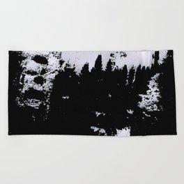 smudge Beach Towel