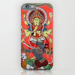 Hindu Durga 5 iPhone Case