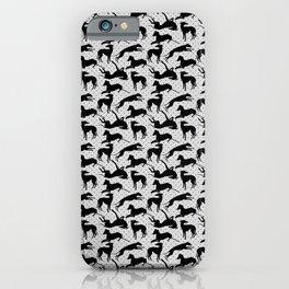 Greyt Burlesque Greyhounds iPhone Case