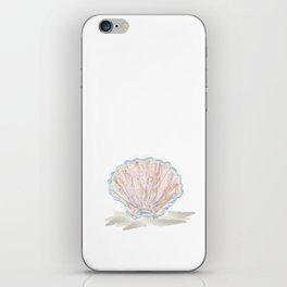 Seashell Abstract Watercolor  iPhone Skin
