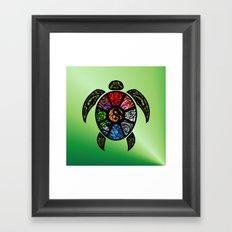 Bagua Turtle Framed Art Print