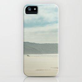 Long Board Surfer iPhone Case