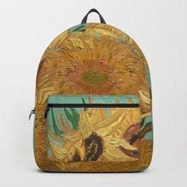 Van Gogh Sunflowers Backpack