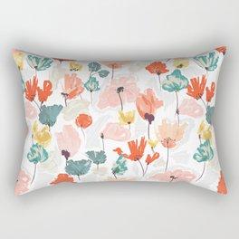 Wild Beauty Saffron Rectangular Pillow