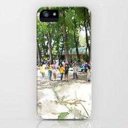 The Playground iPhone Case