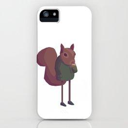 Humanimals - Squirrel iPhone Case