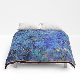 GOLDEN DREAM OF DREAMCATCHER BLUE VIOLET GOLD Comforters