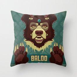 Baloo Throw Pillow