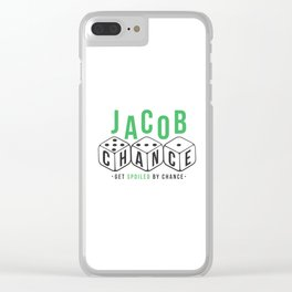 Jacob Chance Clear iPhone Case