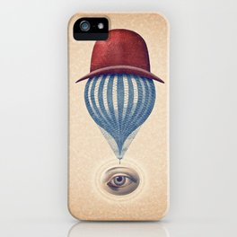Globo Ocular iPhone Case