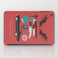 supernatural iPad Cases featuring Supernatural by Abbie Imagine