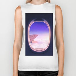 Travel The World Biker Tank