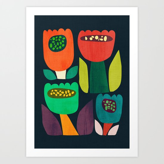 Flourish Art Print