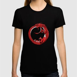 The Wyrm Turned Red T-shirt
