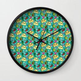 Taco Party Wall Clock