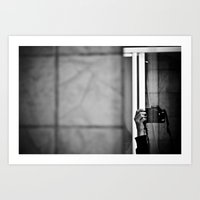 Photographer Art Print
