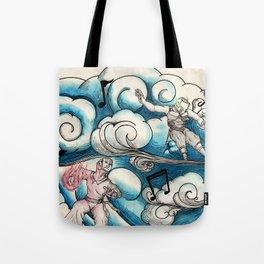 Cloud Music Tote Bag