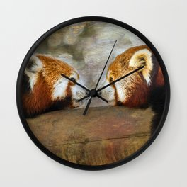 Nose to Nose Wall Clock