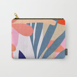 Jungle Love - Pink & Blue Carry-All Pouch