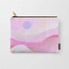 Pink Hills Carry-All Pouch