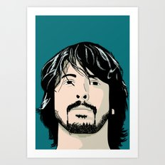 That guy who played drums in Nirvana Art Print