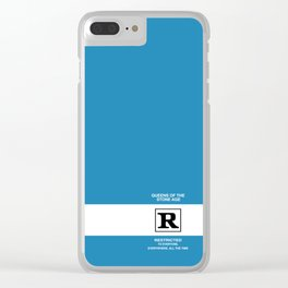Rated R Clear iPhone Case