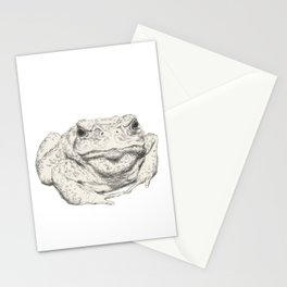Toad Face Stationery Cards
