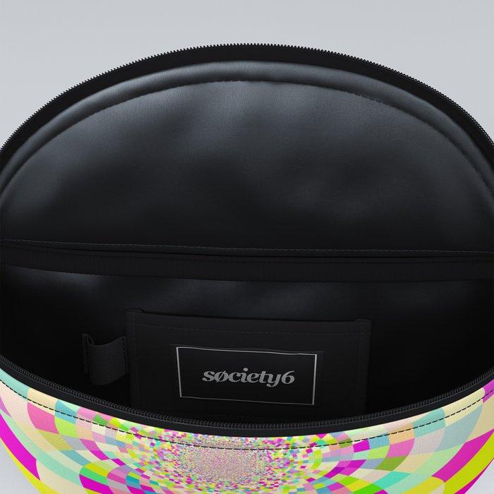 Bright & Pastel Kaleidoscope Fanny Pack